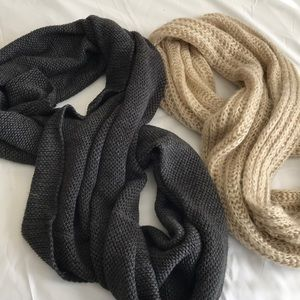 (2) Infinity Scarves